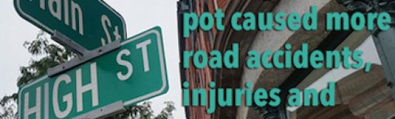 Does Legalizing Pot Contribute to Auto Accidents?