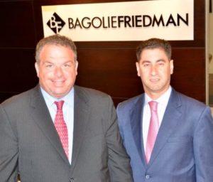 Ricky Bagolie and Alan Friedman