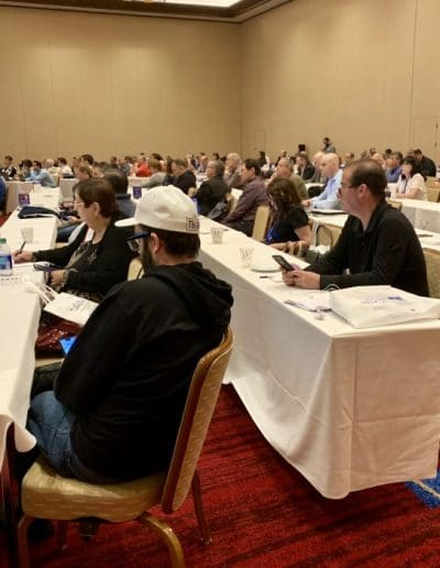 "Photo 3 - Alan Friedman, senior partner at Bagolie Friedman Injury Lawyers, lectures over 100 lawyers on the ""Admissibility of Expert Evidence in a Workers' Compensation Trial."" at the New Jersey Association for Justice annual convention in Atlantic City on May 6, 2019"