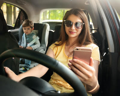 Distracted Driving - Bagolie Friedman Injury Lawyers