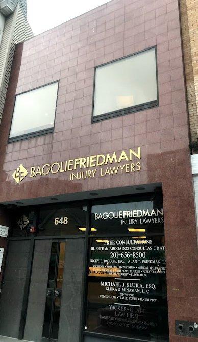 Bagolie Friedman Injury Lawyers Jersey City Location